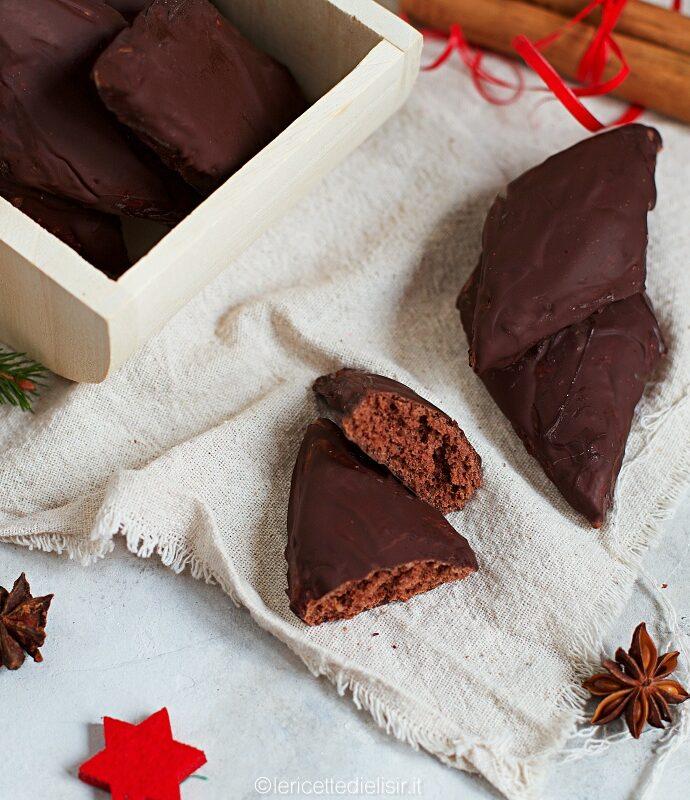 Mostaccioli napoletani al cioccolato fondente