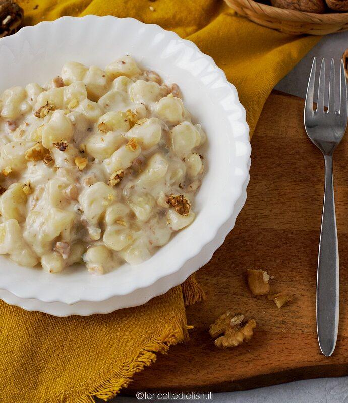 Gnocchi gorgonzola e noci ricetta velocissima