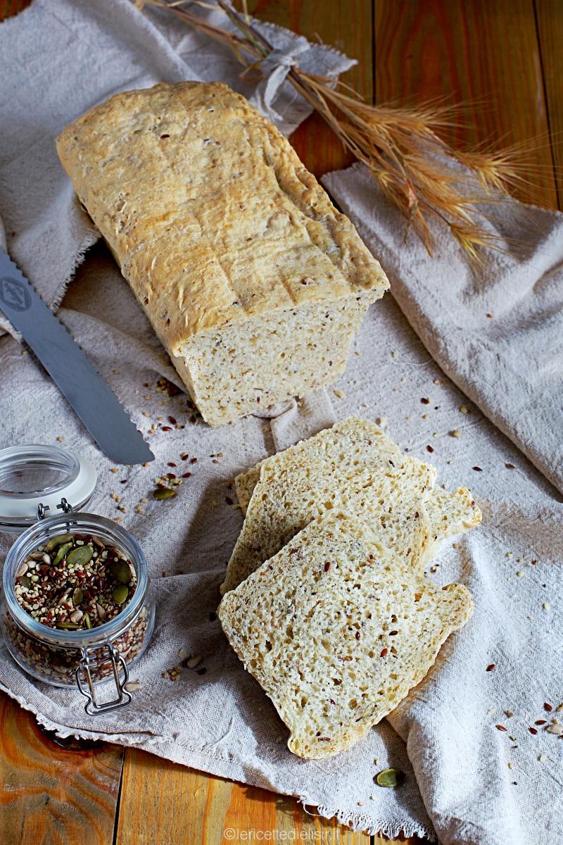 Pane ai semi misti, ricetta pane fatto in casa