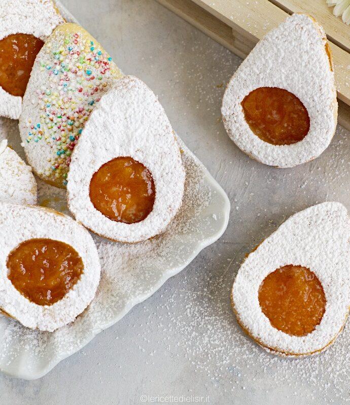 Biscotti uovo di Pasqua friabili