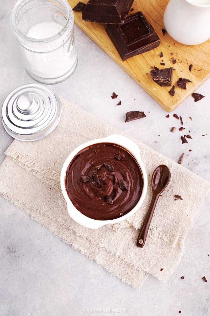 Crema pasticcera al cioccolato golosa e facilissima