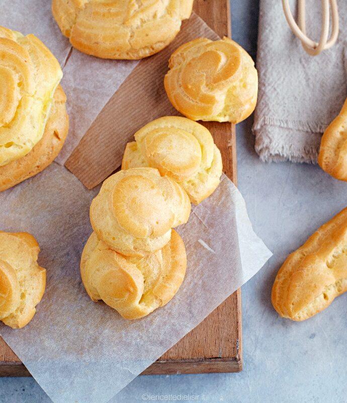 Pasta choux per bignè, zeppole ed eclair